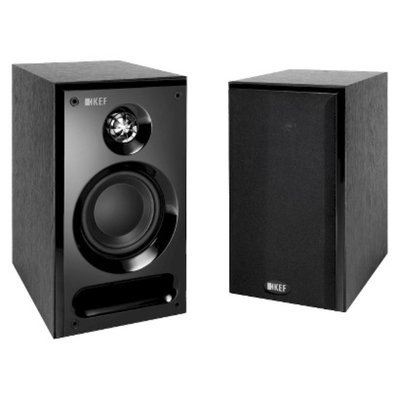 KEF C1 Bookshelf Speakers - Black (NZ0697)