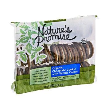 Nature's Promise Organic Chocolate with Vanilla Cream Cookie