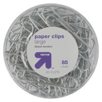up & up up&up Binder Clips Jumbo Clear 85-ct.