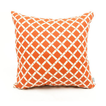 Majestic Home Goods Burnt Orange Large Pillow