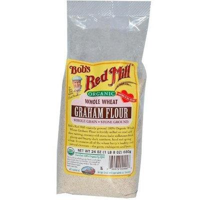 Bob's Red Mill Organic Graham Flour, 24-Ounce