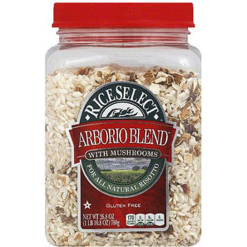 Riceselect Rice Select Arborio Blend Rice with Mushrooms, 26.8 oz, (Pack of 4)