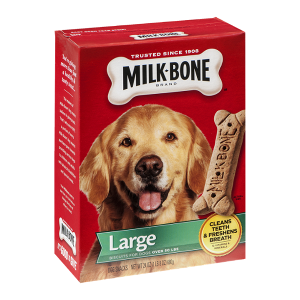 Milk-Bone Biscuits For Dogs Over 50 lbs Large