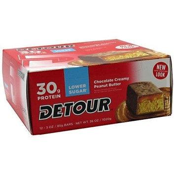 Forward Foods Detour Bars Detour Bar Low Sugar Peanut Butter 12 Bars