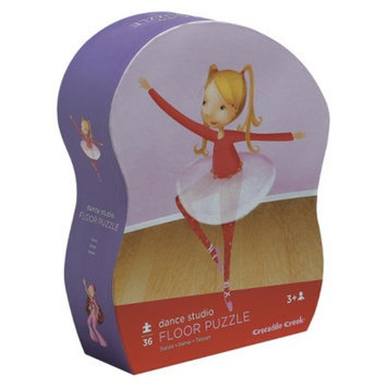 Crocodile Creek Dance Studio Shaped Box Floor Puzzle