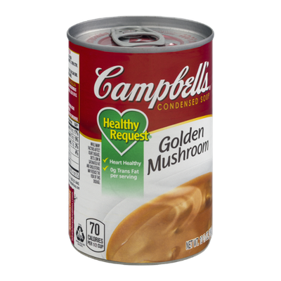 Campbell's Healthy Request Condensed Soup Golden Mushroom