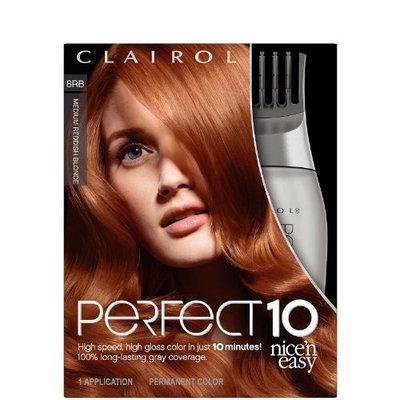 Clairol Nice 'n Easy Hair Color, 8RB, Medium Reddish Blonde