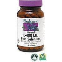 BlueBonnet Dry E-400 IU Plus Selenium Vegetarian Capsules, 120 Count