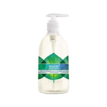 Seventh Generation Natural Hand Wash, Free & Clean, 12 fl oz