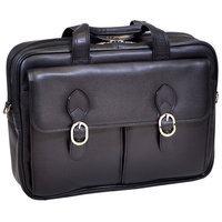 Mcklein McKlein HYDE PARK 15735C - Black - Double Compartment Laptop Case