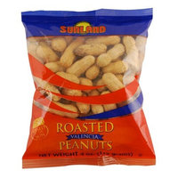Sunland Roasted Valencia Peanuts In-Shell, 4-Ounce Bags (Pack of 90)