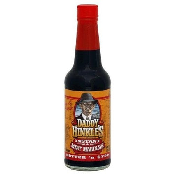 Daddy Hinkle's Marinade, Hotter'n $700, 15 Ounce (Pack of 6)
