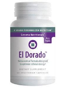 D'adamo Personalized Nutrition El Dorado 60 vegcaps