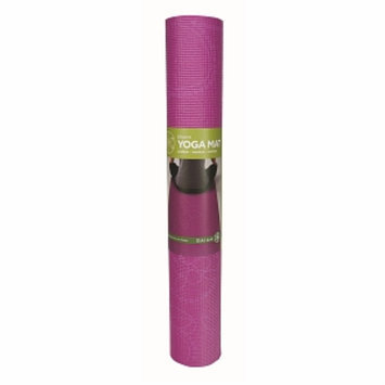 Gaiam Yoga Bloom Printed Yoga Mat, Fushia, 1 ea