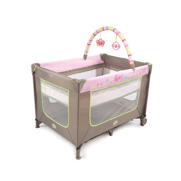 Bright Starts Flutter Dot Playard - Pretty in Pink