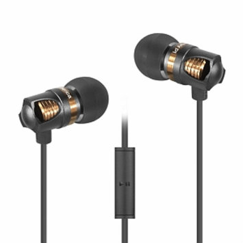 ID America IDH101-BLK Spark In-Ear Headphones, Gray, 1 ea