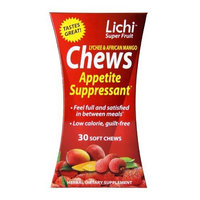 Lichi Diet Lichi Super Fruit Appetite Suppressant Soft Chews 30 Count