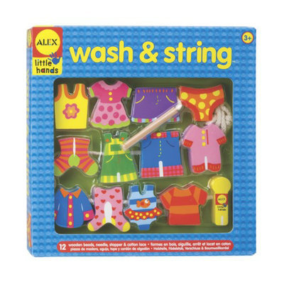 Alex Toys Alex Wash and String Play Set