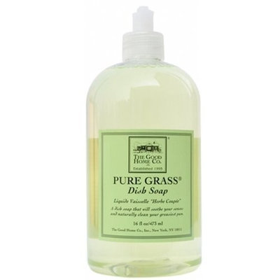 The Good Home Co. The Good Home Dish Soap, Pure Grass, 12 Ounce