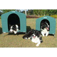 Hound House Collapsible Dog House in Green