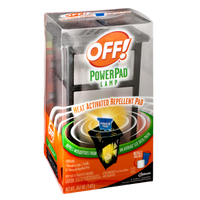 OFF! Heat Activated Repellent Power Pad Lamp