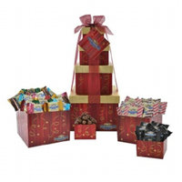 Ghirardelli Festive Flavors Gift Tower
