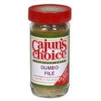 Cajun Choice Seasoning Gumbo File, 1.4-Ounce (Pack of 6)
