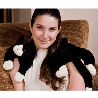 Dream Time Black & White Tuxedo Cat Therapy Collection