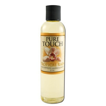 Pure Touch Tropical Rain - Watersperse Massage Oil, 8 oz