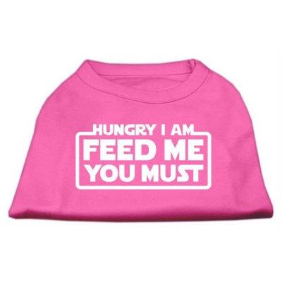 Ahi Hungry I am Screen Print Shirt Bright Pink Lg (14)