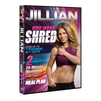 Empowered Media Jillian Michaels One Week Shred DVD, 1 ea