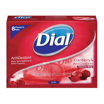 Dial Antioxidant Cranberry Bar Soap