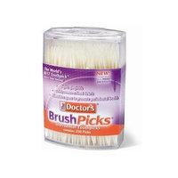 Dental Concepts The Doctor's BrushPicks Toothpicks, 250 Picks (Pack of 12)