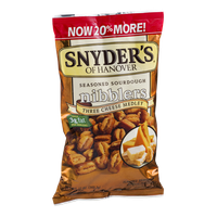Snyder's Of Hanover Nibblers Three Cheese Medley