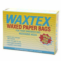 WAXTEX Wax Paper Sandwich Bags