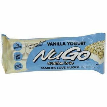 Nugo Nutrition Bar Vanilla Case of 15 1.76 oz