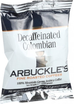 Arbuckle's Coffee Colombian Decaf 1.3 OZ (Pack of 10)
