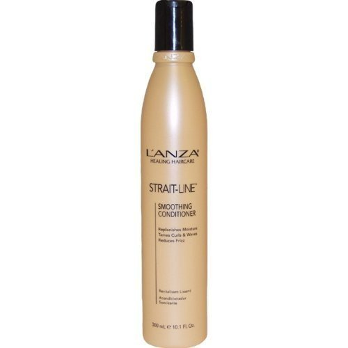 Strait Line Smoothing Conditioner by L'anza for Unisex Conditioner, 10.1 Ounce