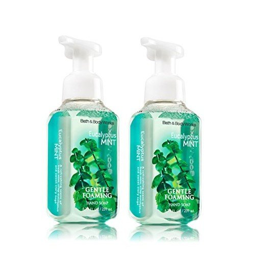 Bath & Body Works Eucalyptus Mint Gentle Foaming Hand Soap 8.75 Oz. - Pack of 2