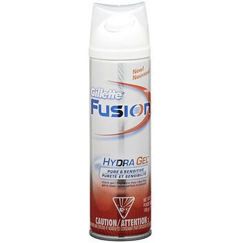 Gillette Fusion Pure & Sensitive HydraGel