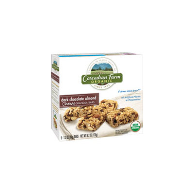 Cascadian Farm Organic Dark Chocolate Almond Chewy Granola Bars