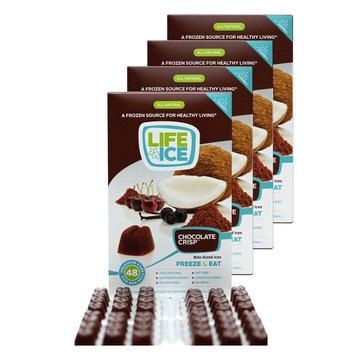 LifeIce Chocolate Crisp Bite-Sized Ices - 4 fl oz