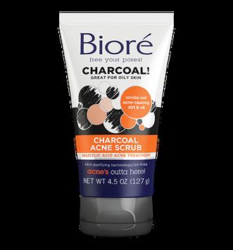 Bioré Charcoal Acne Scrub