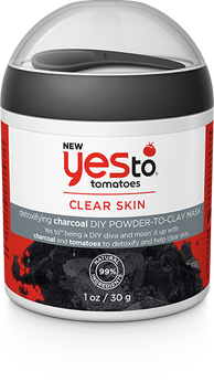 Yes To Tomatoes Detoxifying Charcoal Diy Powder To Clay Mask