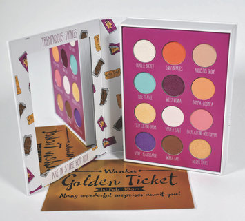 Storybook Cosmetics x Charlie and the Chocolate Factory Storybook Palette