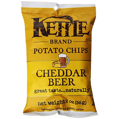Kettle Brand® Cheddar Beer Potato Chips