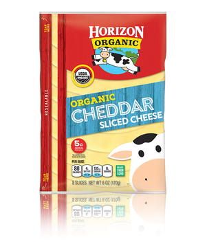 Horizon Cheddar Cheese Slices