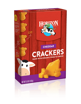 Horizon Cheddar Snack Crackers