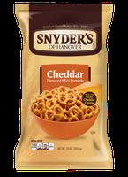 Snyder's Of Hanover Cheddar Flavored Mini Pretzels