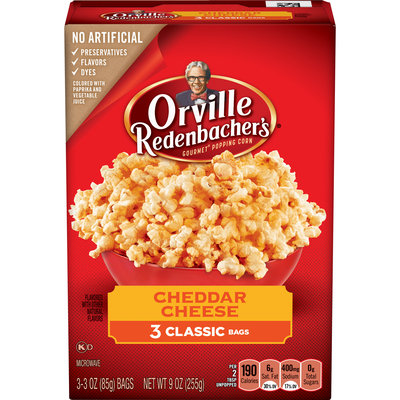 Orville Redenbacher's Cheddar Cheese Gourmet Popping Corn